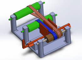 Idler pulley system