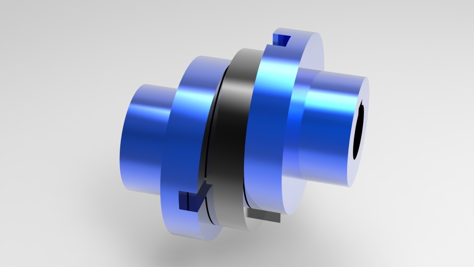 oldham coupling - Pro/Engineer Wildfire - 3D CAD model - GrabCAD