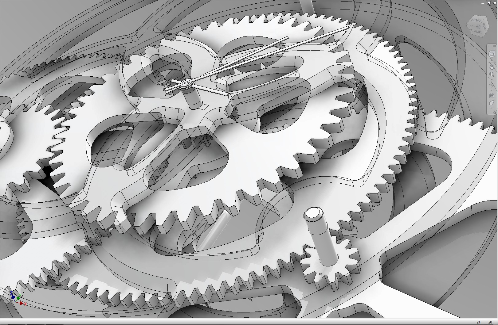 cnc clock project files