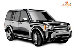 landrover discovery 3...sketch book designer project