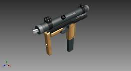 Métral Sub-Machine Gun