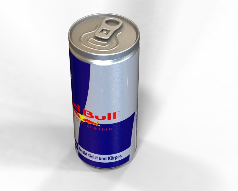 Red Bull Kühlschrank Dose : Redbull recent models d cad model collection grabcad