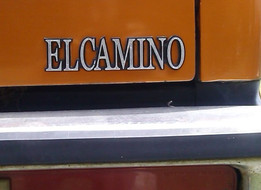 El Camino Rear Quarter Panel Emblem, 1978-1987