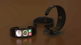 Android Wear Smartwatch / Fitness Band concept