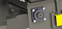 Four-Bolt Flange Bearing Unit (Ø40mm)