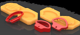 Mold for Complete Plastic Handle   TRINOTA