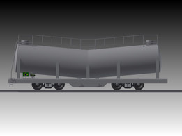 Carrier wagon cement