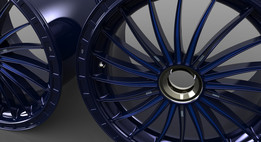 GT Wheel Rim Front RH