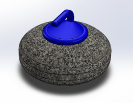 Curling Stone for FEA