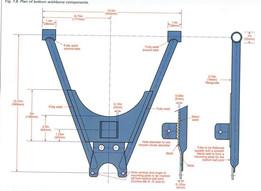 Haynes/locost lower wishbone