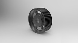 Pulley (NX8.0, Inventor 2012)