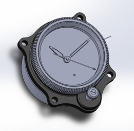 Junghans Cockpit Clock