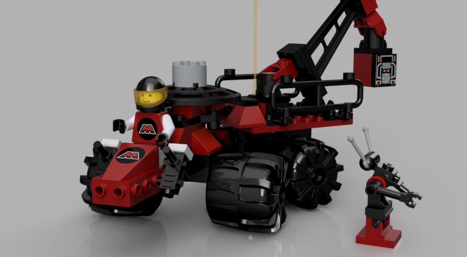 LEGO 6896 Celestial Forager | 3D CAD Model Library | GrabCAD