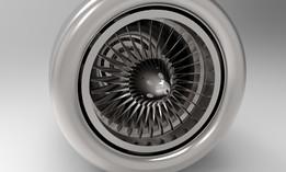 turbojet compressor