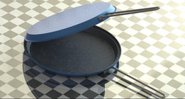 Fish pan design