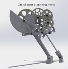 Grasshopper Mimicking Robot
