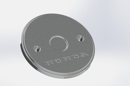 motorcycle crank case cover plate honda CD70