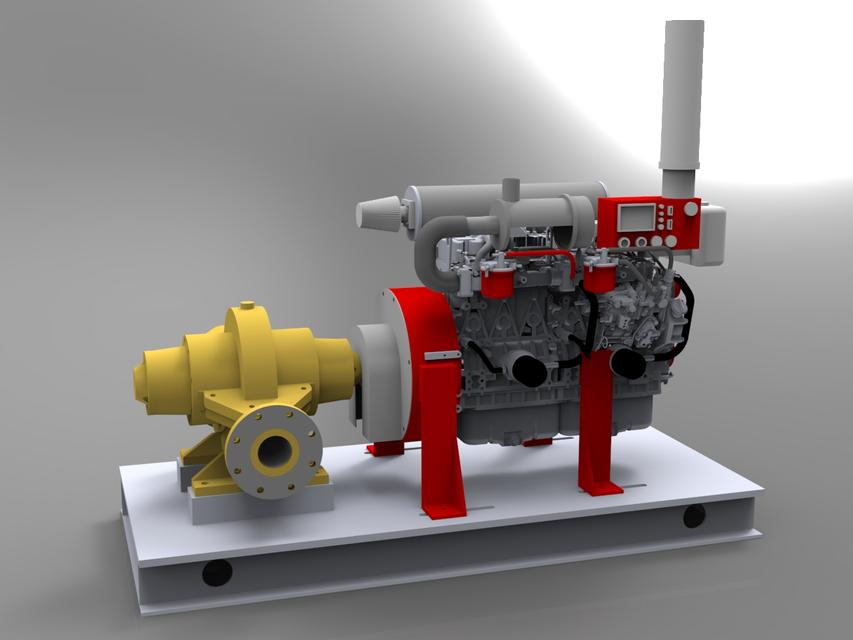 armstrong diesel fire pump-armstrong dizel yangın pompası