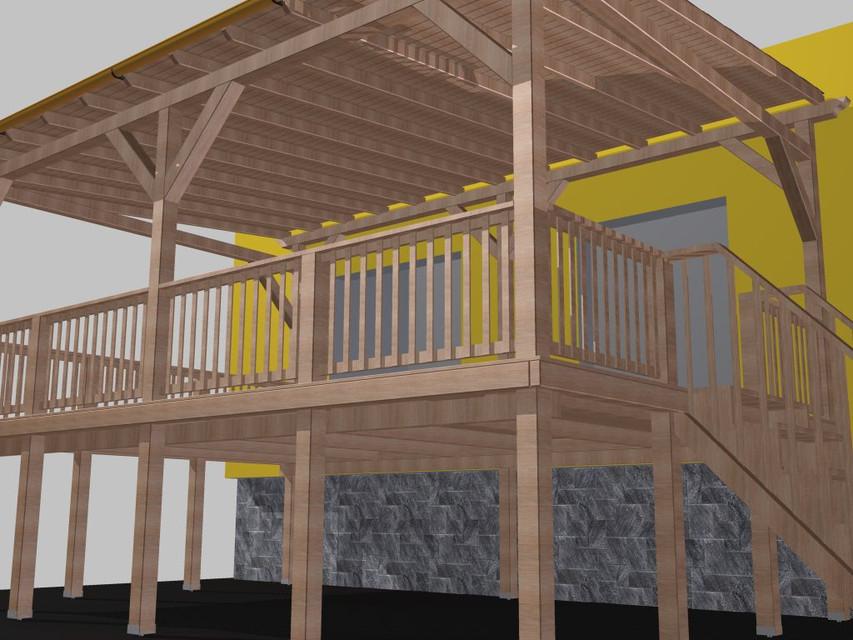 Veranda | 3D CAD Model Library | GrabCAD