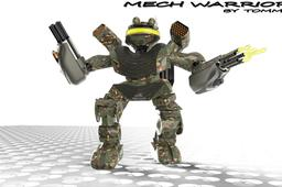 Mech Warrior by Tommy