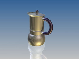 Espresso coffee pot