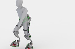 Exoskeleton for the disabled - climber