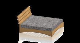 Custom made oak bed v2