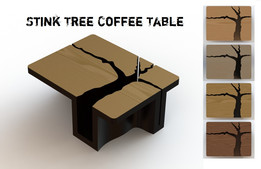 Stink Tree Coffee Table