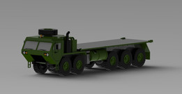 Hemtt A4 Military Container Truck