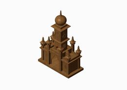 Antique Clock Tower