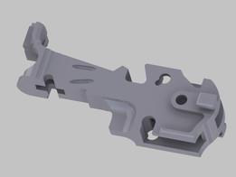 Lock mechanism frame for Mauser C96