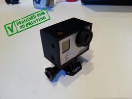 GoPro Hero 3 Frame For Back Pack