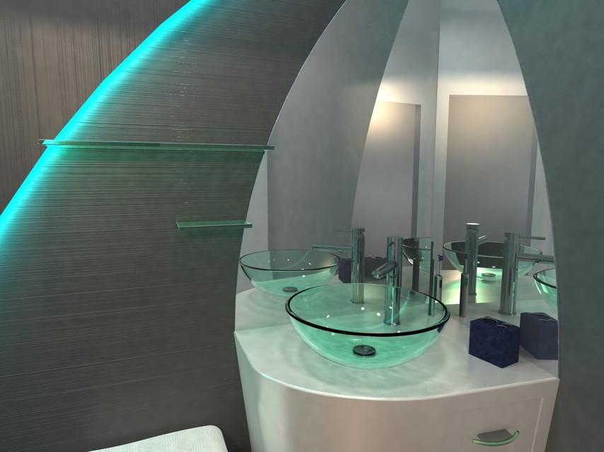 salle de bain | 3D CAD Model Library | GrabCAD