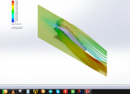 Aerofoil Simulation Using Solidworks Flow Simulation