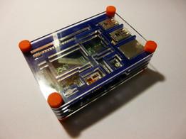 Raspberry Pi 2 / B+ Case {Laser Cut} {3D Printed}