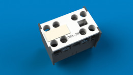Auxiliary contactor metaltex mod. cna-2m / contator auxiliar metaltex mod. cna-2m