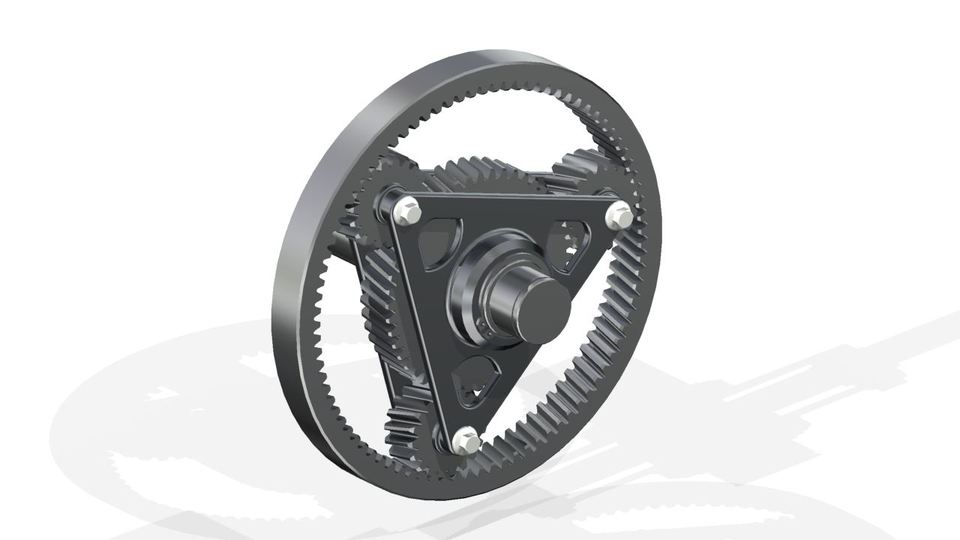 Planetary gear simplified model step igesautodesk inventor planetary gear simplified model step igesautodesk inventorautodesk inventor 3d cad model grabcad ccuart Image collections