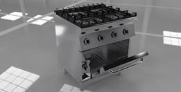 cucina 4F+forno