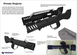 FAMAS mod LASER-TAG gun