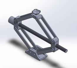 car jack - SOLIDWORKS - Recent models | 3D CAD Model Collection