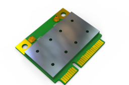 Half PCI-E WLAN
