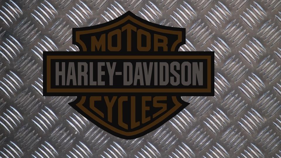 Harley davidson logo solidworks 3d cad model grabcad voltagebd Choice Image