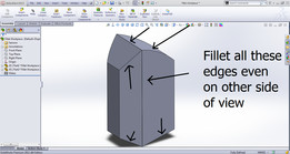 Fillet Problem with Assembly (SolidWorks)