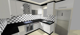 A sample of kitchen