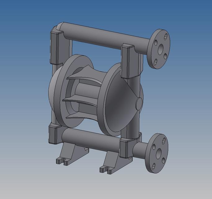 Diaphragm pump 3d cad model library grabcad ccuart Images