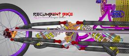 U-Bike DESIGN Recumbent Tilting Suspention Step-04