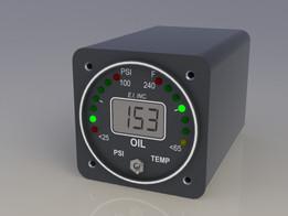 EI Oil Pressure and Temperature