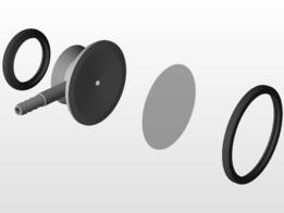 Chestpiece Dual Head Stethoscope