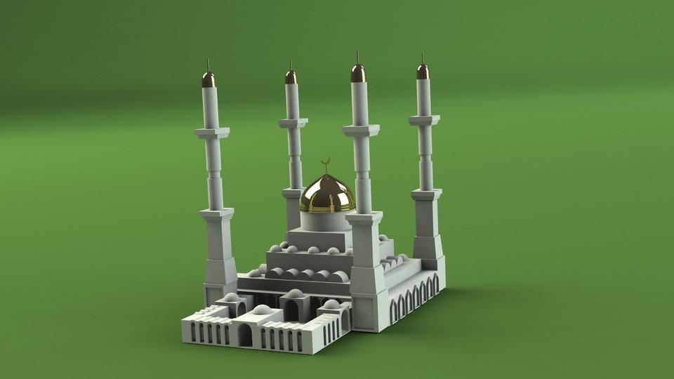 Nur Astana   3D CAD Model Library   GrabCAD
