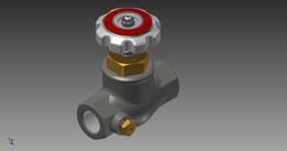 globe valve, fisher N350
